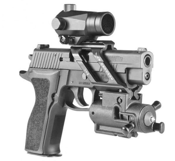 FAB USM Pistolen Brückenmontage